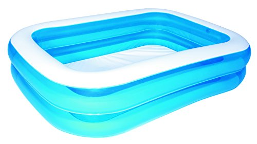 Bestway 12819 piscine rectangulaire bleu 123jeu - Amazon piscine gonfiabili ...