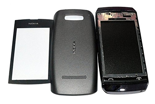 Planet Replacement Full Body Housing Back, Body Panel For Nokia Asha 305- Black  available at amazon for Rs.389