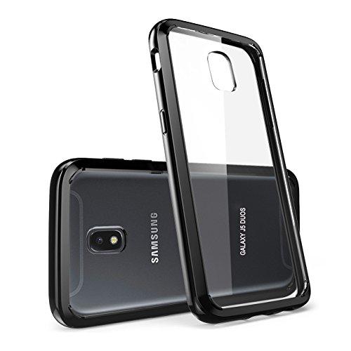 Samsung Galaxy J5 2017 Hülle, ykooe Transparent Silikon Schutzhülle für Samsung J5 DUOS Case Crystal Clear Durchsichtige TPU Bumper Galaxy J5 2017 Handyhülle (5,2 Zoll)