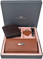 Urban Forest Spencer Leather Wallet Combo Gift Set