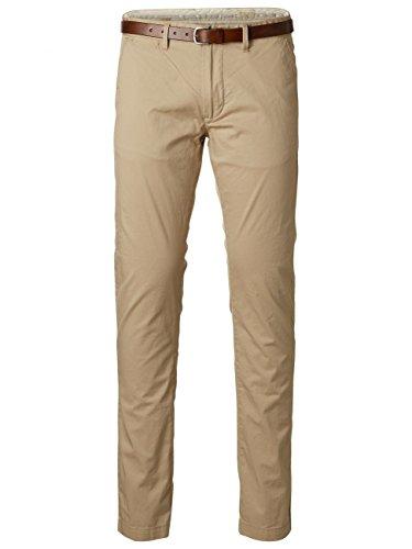 Selected Herren Chino Hose SHHYARD WHITE PEPPER SLIM ST PANTS NOOS, Größe:W 28 L 32;Farbe:White Pepper (16048756)