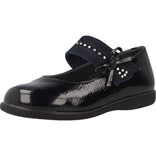 Landos Zapatos Cordones 65Z06 para Niñas Azul 26 EU