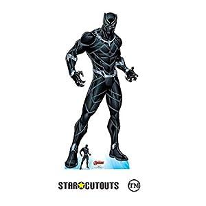 Star Cutouts SC1607 Ltd - Recorte de cartón de tamaño real para fanáticos de Marvel, coleccionistas y eventos, 184 cm de alto, 87 cm de ancho, multicolor