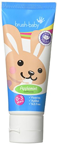 Brush-Baby Applemint Zahnpasta 0-3 Jahre