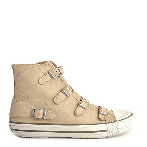 Ash Scarpe Virgin Hi Top Sneaker, Donna 37 EU Clay