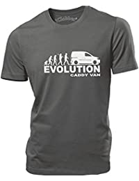 iClobber Caddy Van Evolution mens T Shirt