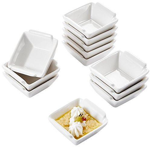 MALACASA, Serie Ramekin.Dish, 12-teilig 2,5