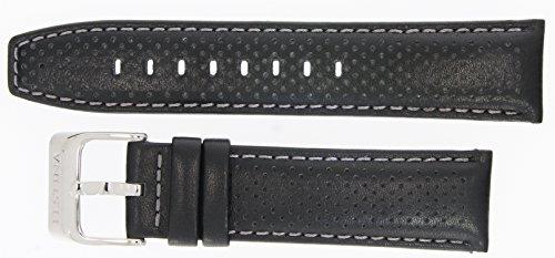 Festina Uhrenarmband Ersatzband Leder Band mit Kontrastnaht 23mm für alle Modelle F16585, Farben:sch