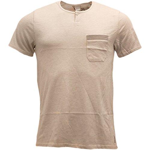 Bench -  T-shirt - Basic - Maniche corte - Uomo Oat Marl Large