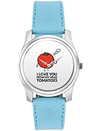 BigOwl Love You From My Head Tomatoes(From Head To Toes) | For Couples Him/Her Fashion Watches For Girls - Awesome...
