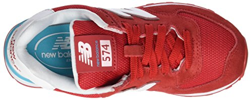 New Balance Wl574cna, Sneakers basses femme Rouge (Red)