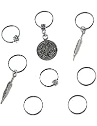 Young & Forever Tribal Muse Collection Attractive Turkish Design Oxidized Silver Plated Alloy Designer Hair Accessories...