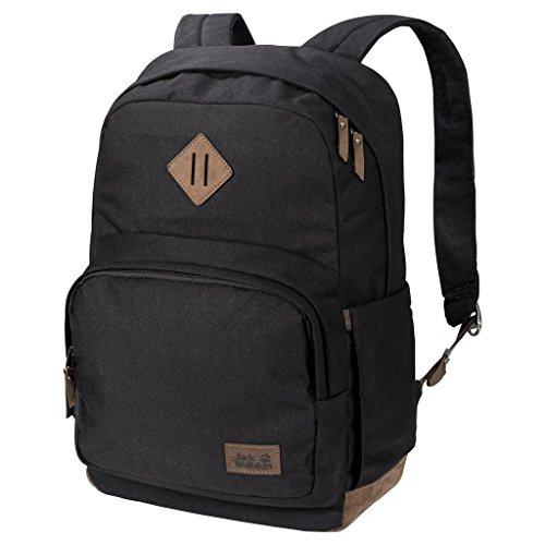Jack Wolfskin Croxley Outdoor Daypack Rucksack Tagesrucksack, schwarz, Einheitsgröße