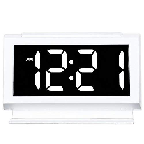Despertador Sleepers Pesados Relojes de Escritorio Eléctrico Pantalla Digital Grande Luz de Noche 2...