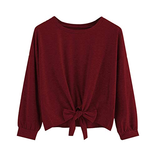 Mymyguoe Frauen Sweatshirt Teenage Mädchen Langarm Pullover Crop Top Sweatshirts Herbst Frauen Kapuzenpulli Damen Sweatshirt Sport Pullover Tops Frauen Shirt Lange Ärmel Kapuzen -