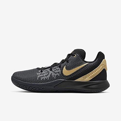 meilleur service 1be22 92440 Nike Herren Kyrie Flytrap II Basketballschuhe, Mehrfarbig (Black/Metallic  Gold/Anthracite 000), 42.5 EU