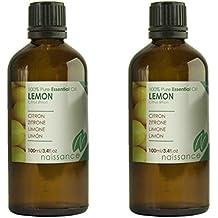 Naissance Olio di Limone - Olio Essenziale Puro al 100% - 200ml (2x100ml)