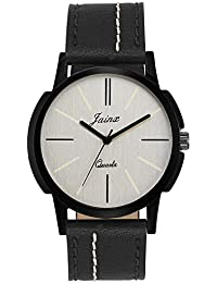 Jainx Decent Silver Dial Analog Watch For Men & Boys - JM260