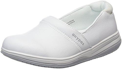 Oxypas Suzy, Women's Safety Shoes, Scarpe Donna, Bianco (Wht), 38 EU
