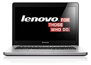 "Lenovo Ideapad U410 Ordinateur Portable tactile 14"" (35,56 cm) Intel Core i3 3227U 1,8 GHz 500 Go 4 Go Nvidia Geforce 710M Windows 8 Gris"