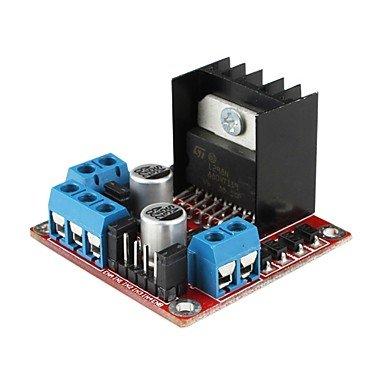 FAYM- L298N dual h ponte dc motore passo passo il modulo scheda di controllo per (per arduino) - Modulo Di Controllo Del Motore