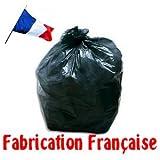 SAC POUBELLE 110 LITRES LOT DE 200 SACS FABRICATION FRANCAISE