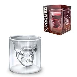 Doomed crâne de cristal Shotglass