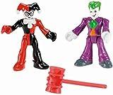 Fisher Price Imaginext Toy - DC Super Friends - Joker Harley Quinn Action Figure - Batman Villians