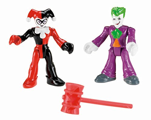 Fisher Price Imaginext DC Super Friends The Joker And Harley Quinn