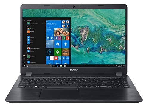 "Acer Aspire 5 A515-52-3973 Notebook con Processore Intel Core i3-8145U, Ram 4GB, 128GB SSD, Display 15.6"" FHD Acer ComfyView LED LCD, Windows 10 Home in S mode, Nero"