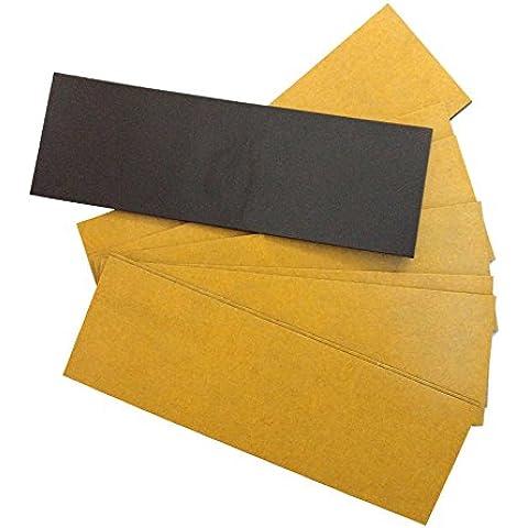 Imanes Flexibles para Fotos y Manualidades: Manutips rectangular 120-40 mm.(10 unidades)