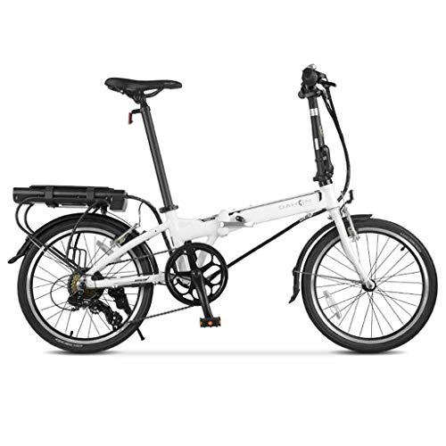 Híbridas Bicicleta eléctrica Bicicleta eléctrica de 20 Pulgadas y 7 velocidades Freno Bicicleta de montaña Bicicleta eléctrica con 36V Batería...