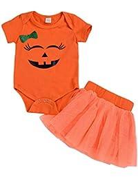K-youth Vestidos Bebe Niña, Halloween Bebe Monos Mameluco Lindo Peleles Recién Bebé Niñas Tutú Princesa Vestido Bautizo Bebé Niñas Otoño Invierno Ropa para 0-24 Meses