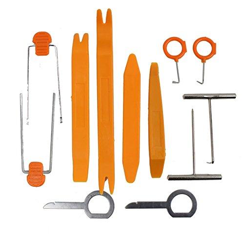 BAYLI Demontage Werkzeug Set Satz für Auto PKW LKW Radio Ausbau Einbau Türverkleidung Auto Werkzeuge