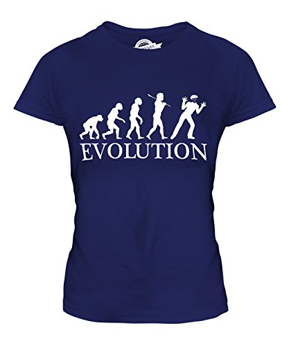 Candymix - Mime Evolution Of Man - Ladies Fitted T Shirt Top T-Shirt