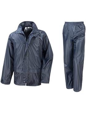 Result Traje Impermeable/Conjunto Impermeable/chubasquero 2 piezas (conjunto chaqueta y pantalón)