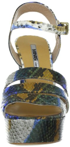 Manas portofino 121L5805C, Sandali donna Blu (Blau (BLUETTE))