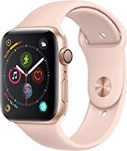 Apple Watch Series 4-40mm Gold Aluminum Case with Pink Sand Sport Band, GPS + Cellular, watchOS 5