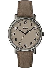 Timex Herren-Armbanduhr Analog leder braun T2N957D7