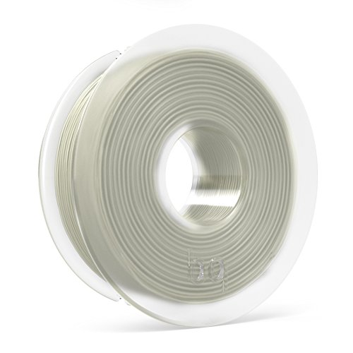 BQ F000122 PLA Spule 3D Drucker, 1,75 mm, Transparent, 300 g