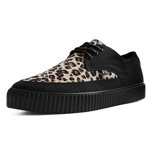 new concept 225cb f9e74 Zapatilla De Deporte De Mujeres De T.U.K. Shoes Hombres Imitación Leopardo  Piel Acentuado Enredadera EU44