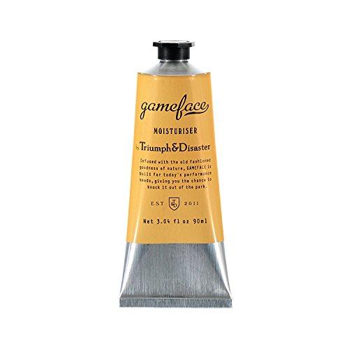 Triumph & Disaster Gameface Feuchtigkeitscreme-Rohr 90ml - mit Jojobaextrakt Horopito Öl Vitamin E und natürliche Antioxidantien zur Feuchtigkeitsversorgung Beleben und rehydrieren Trockene, dumpfe & müde Haut -