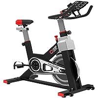 Monociclos Deportes Bicicleta Indoor Ejercicio Bicicleta Bodybuilding Bicicleta Ajustable Manillar Asiento Deportes Aerobic Bicicleta (Color : Black, Size : 112 * 45 * 95 cm)