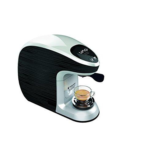 Hotpoint CM MS QBW0 Macchina per Caffe Espresso, 1300 watts, Nero/Grigio