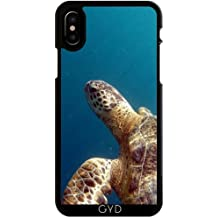 Custodia per Iphone X - Tartaruga Sealife Animale Acqua by WonderfulDreamPicture