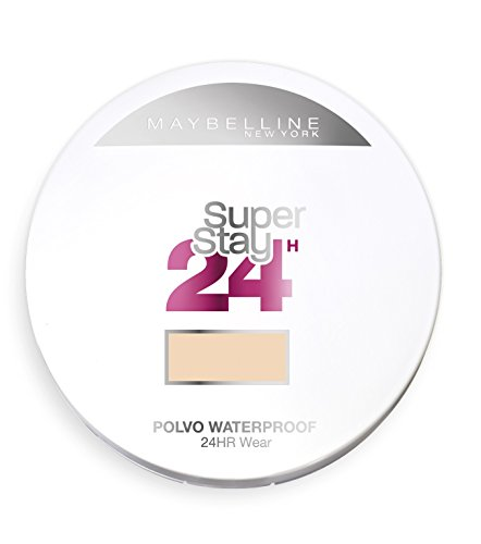 Maybelline Superstay 24H, Polvo Compacto Matificantes, Tono: nº30 Sand