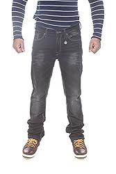 Pepe Jeans Mens Black Slim Fit Jeans (Vapour Fit) (38)