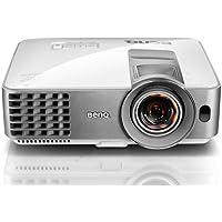 BenQ MW632ST Kurzdistanz DLP-Projektor (WXGA 1200x800 Pixel, Kontrast 13.000:1, 3.200 ANSI Lumen, HDMI/MHL, Lautsprecher) weiß