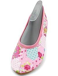 Calvin Klein Roses, Zapatillas de Gimnasia para Niñas