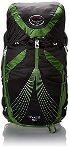 Osprey Packs Exos 58 Backpack, Basalt Black, Large